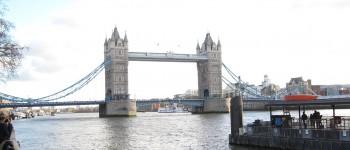 London Tower Bridge Winter